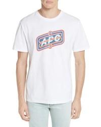 A.P.C. Bastien Logo Graphic T Shirt