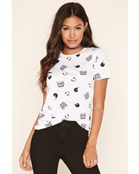 Forever 21 Boombox Print Graphic Tee