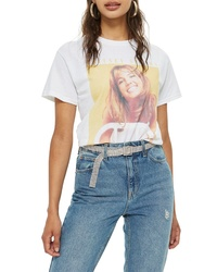 Topshop Britney Spears Graphic Tee