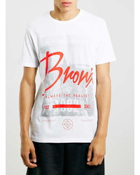 Topman Bronx Photo Print Slim T Shirt