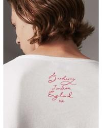 Burberry Castleford Print Cotton T Shirt