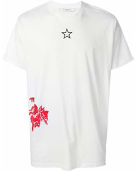 Givenchy Cathedral And Rose Print T Shirt
