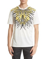 Versace Collection Baroque Graphic Cotton T Shirt