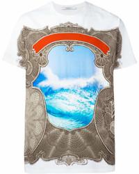 Givenchy Columbian Fit Baroque Print T Shirt