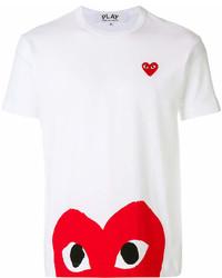 Comme des Garcons Comme Des Garons Play Heart Print T Shirt