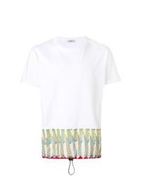 Valentino Contrast Panel T Shirt