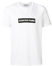 AMI Alexandre Mattiussi Coucou Paris T Shirt