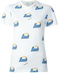 Dash print t shirt medium 745751