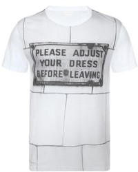 Alexander McQueen Deakin Print T Shirt