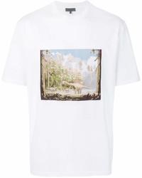 520dc0af64f Men's White Crew-neck T-shirts by Lanvin | Men's Fashion | Lookastic.com