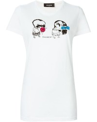Dsquared2 Cartoon Print T Shirt