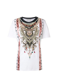 Etro Embellished Design T Shirt