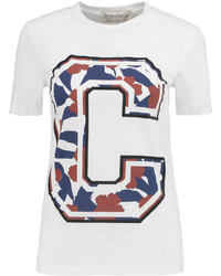 Etre Cecile Big C Printed Cotton Jersey T Shirt
