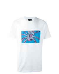 Lanvin Exposed Spider Print T Shirt