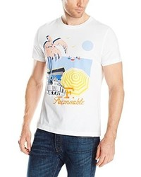 Façonnable F Riviera Print T Shirt
