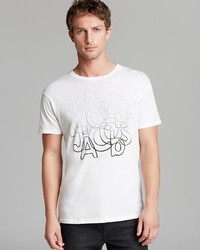 Marc by Marc Jacobs Faded Graphic Print Tee