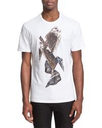 Neil Barrett Falcon Graphic T Shirt