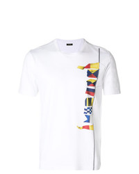 Z Zegna Flags Print T Shirt