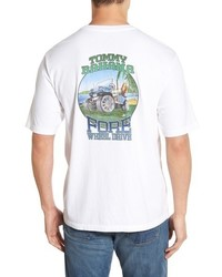 Tommy Bahama Fore Wheel Drive Graphic Crewneck T Shirt
