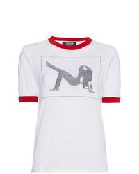 Calvin Klein 205W39nyc Graphic Print Jersey T Shirt