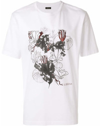 Z Zegna Graphic Print T Shirt