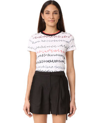 Grey Jason Wu Scribble Print T Shirt