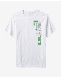 Express Honor Truth Crew Neck Graphic Tee
