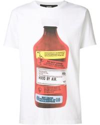 Hood by Air The Webster X Bottle Print T Shirt