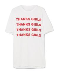 Stella McCartney International Day Printed Cotton Jersey T Shirt