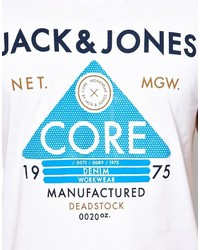 jack and jones jack jones t shirt with core triangle print where to. Black Bedroom Furniture Sets. Home Design Ideas
