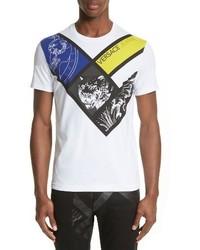 Versace Jeans Boroquo Graphic T Shirt