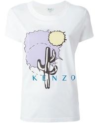 Kenzo Cactus Print T Shirt