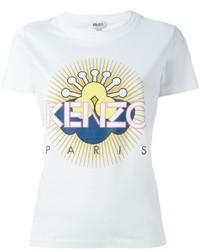 Kenzo Sun Logo Print T Shirt