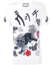 Gucci Laveugle Par Amour Dragon T Shirt