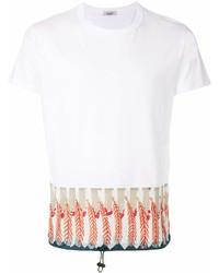 Valentino Leaf Print T Shirt