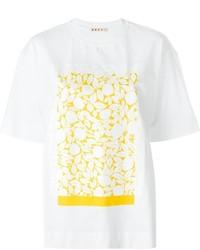 Marni Leaf Print T Shirt
