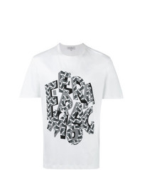 Salvatore Ferragamo Letter Print T Shirt