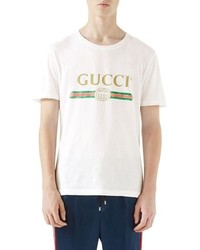 Gucci Logo Graphic T Shirt