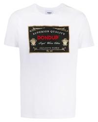 Dondup Logo Print T Shirt