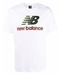 New Balance Logo Print T Shirt