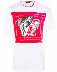 Versace Logo Print T Shirt