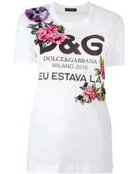 Logo rose t shirt medium 3638072