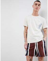 Mango M T Shirt In White