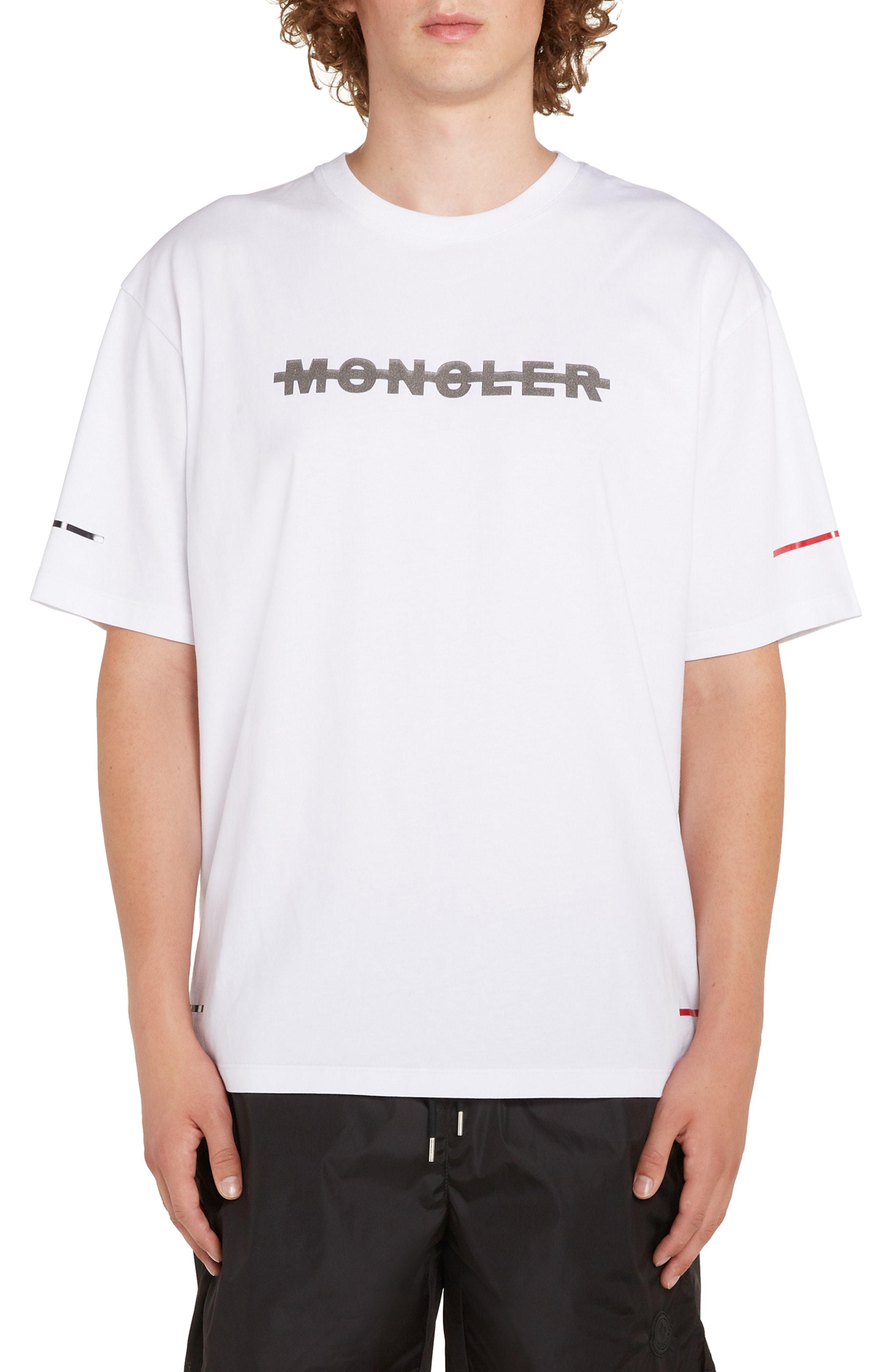 Moncler Maglia Logo T Shirt