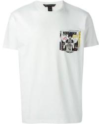 Marc by Marc Jacobs Comic Print Chest Pocket T Shirt