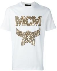 MCM Logo Print T Shirt