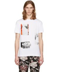 McQ by Alexander McQueen Mcq Alexander Mcqueen White Graphic T Shirt