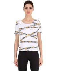 Moschino Underbear Cotton Jersey T Shirt