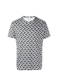 Salvatore Ferragamo Motorcycle Print T Shirt