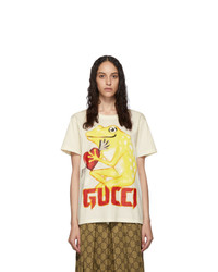 Gucci Off White Frog Heart T Shirt